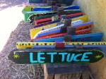 Colorful, reusable signs (Edible Schoolyard)