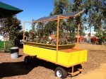 Solar powered aquaponics (Farm + Food Lab, Great Park Irvine)