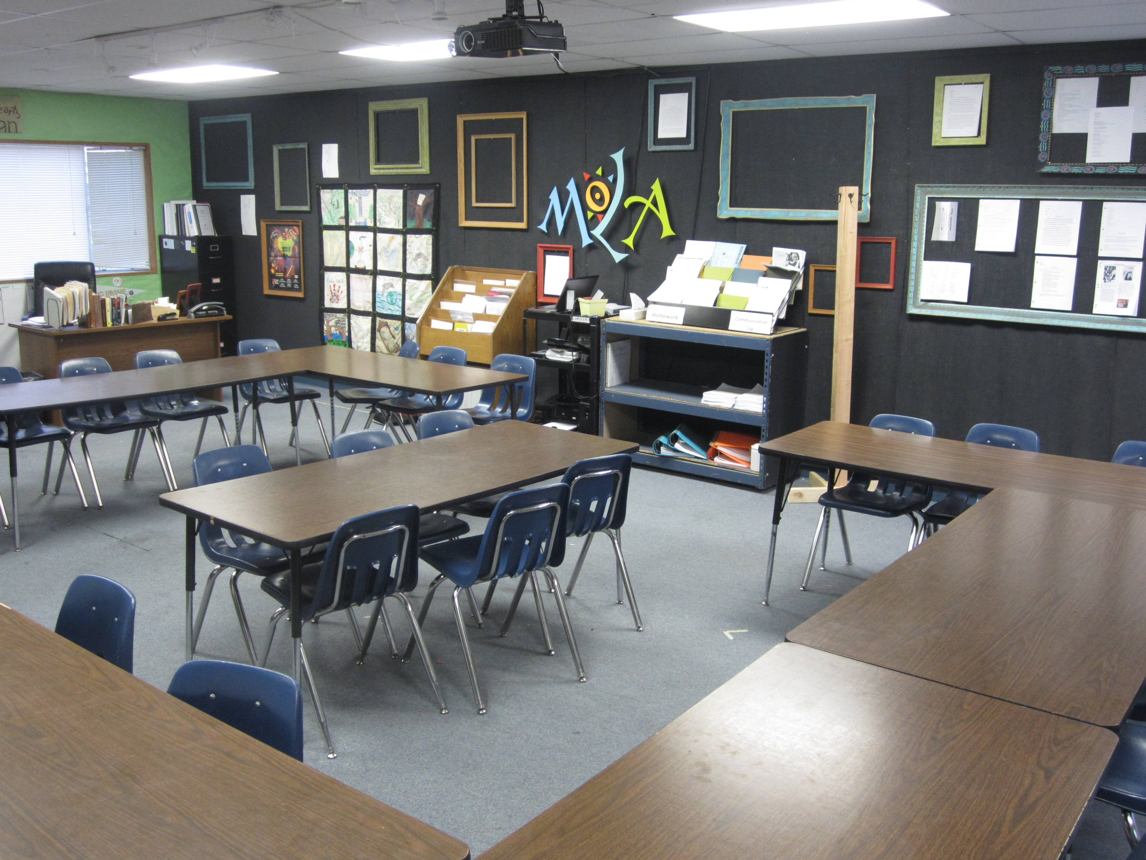 high school english classroom decorating ideas awaiting decoration