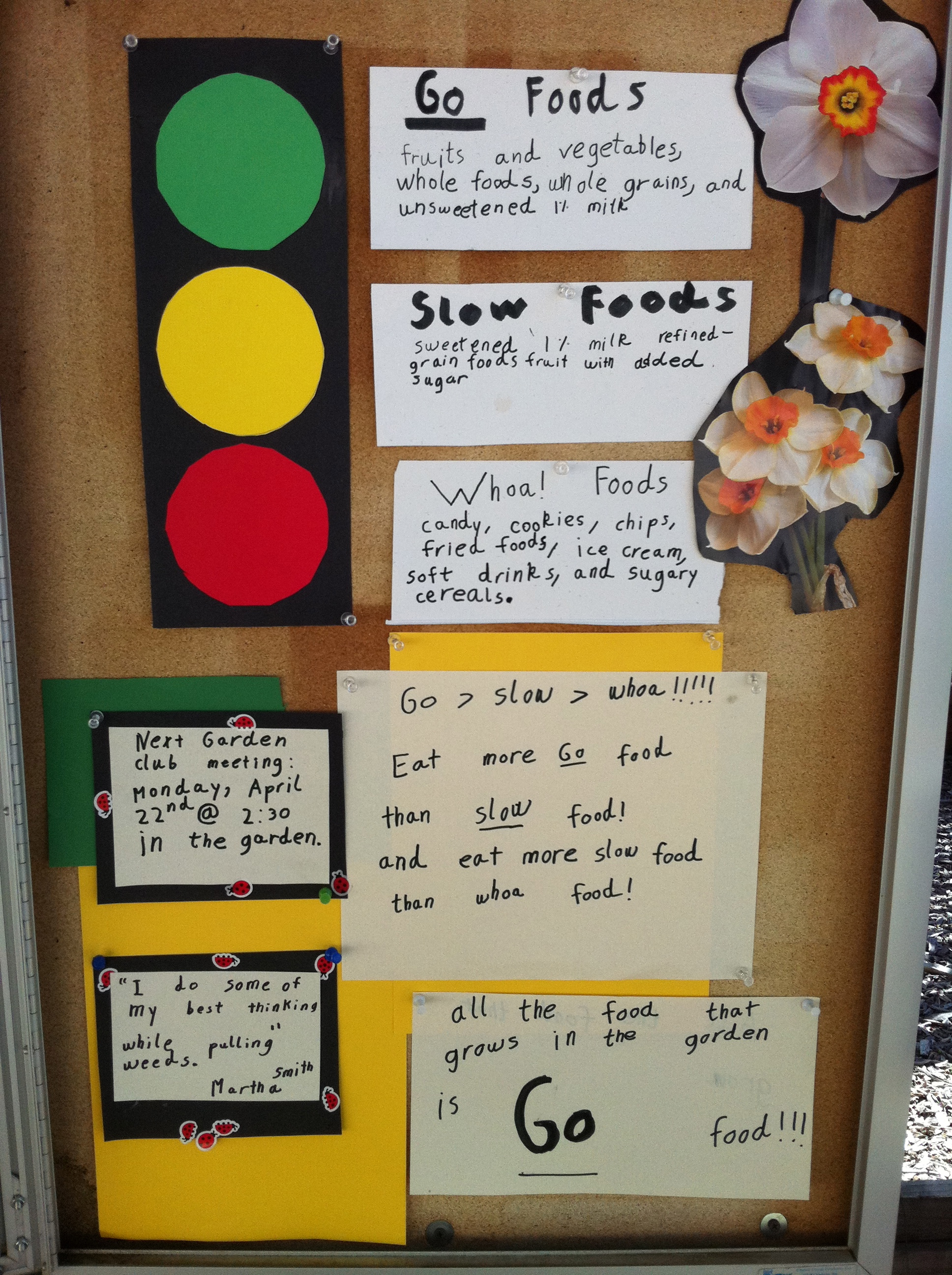 Bulletin board what 39 s not to like for Go as you like ideas